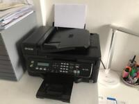 Epson WF-2530 All in One Wi-Fi Printer, Fax, Copier and Scanner with extra Cyan XL cartridge