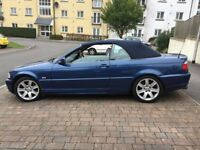 2000 BMW 323CI AUTO CONVERTIBLE.