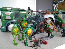 teenage mutant turtles.