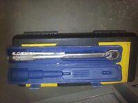 "26 piece draper socket set 3/4 ""drive + 1/2 torch wrench"