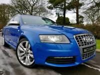 2007 (Sprint Blue) Audi S6 Avant Quattro 5.2 V10 435bhp, LAMBORGHINI ENGINE! Massive Spec! Sunroof!