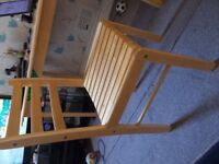 4 x dining chair with table