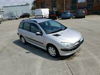2004 PEUGEOT 206sw 1.4S 55K MILES ONLY!! ESTATE MINT!