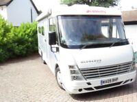 DETHLEFFS GLOBEBUS INTEGRA i3, 2.2L Diesel, RHD, Rear U Shaped Lounge.