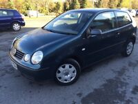 2003 VOLKSWAGEN POLO 1.2 WITH LONG MOT LOOKS AND DRIVES GREAT