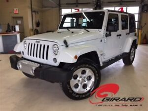 2015 Jeep WRANGLER UNLIMITED *SAHARA UNLIMITED*PLAN OR*ANTIROUIL