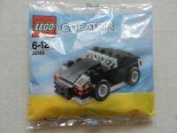 Lego Creator: Black Car 30183 New and Sealed