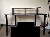 "Studio Desk with 8U 19"" Rack Mounting space and Monitor Speaker Shelf £20 only!"