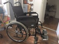 Barely Used Lomax Wheelchair - Full Working Order