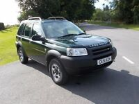 2001 51 LANDROVER FREELANDER TD4 5 DOOR 4X4 MOT AUGUST 2017