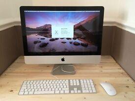 Apple iMac 21.5 inch i3 Processor 3.06 Ghz 8gb Ram 500HD Logic9 Adobe FinalCutProX/Studio *YOSMITE*