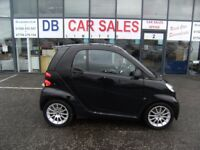 2011 11 SMART FORTWO COUPE 1.0 PASSION MHD 2D AUTO 71 BHP** GUARANTEED FINANCE **PART EX WELCOME **