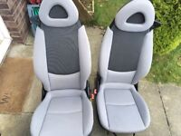 Smart Fortwo seats