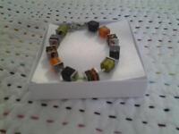 Coeur de Lion cube bracelet