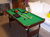 Folding Snooker / Pool Table