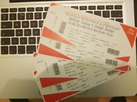 Joshua vs Parker @ Cardiff QUICK SALE: only £85 each!