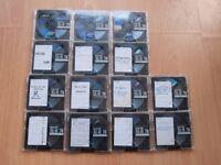 14 blank minidiscs, recording, MDs, mini disc, Maxell XL-II, 74 minutes, 10, XL 11