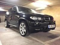 2007 bmw x5 e53 facelift genuine m sport auto v desirable black on black car satnav 107k mls fsh