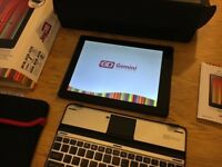 joy tab Gemini 9.7 android dual core tablet with keyboard