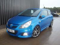 2008 Vauxhall Corsa 1.6 i Turbo 16v VXR 3dr 3 Months Warranty Service Hist May Px Finance Available