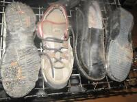 Womens size 9 work shoes 50.00 get's a 3 pairs