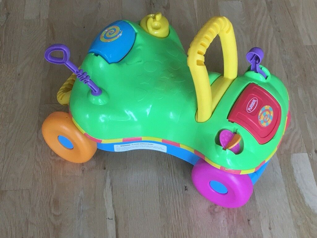 Toddler's sit and ride Playskool buggy