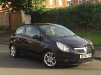 2007 VAUXHALL CORSA 1.2 SXI + FOGLIGHTS + ALLOYS + BLUETOOTH +
