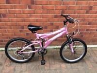 "Dunlop Girls bike 20"" wheels dual suspension BARGAIN"
