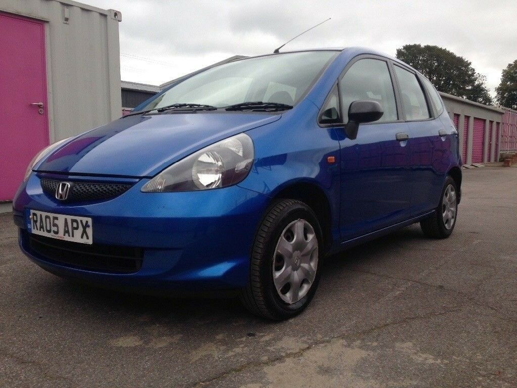 2005 HONDA JAZZ 1,2 MANUAL PETROL 5 DOOR MOT 31/8/2018