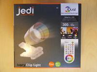 Ivory Clip light 'jedi' - iDual (Brand New)