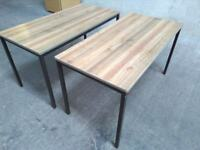 Two childrens desks childs desks work desk bench