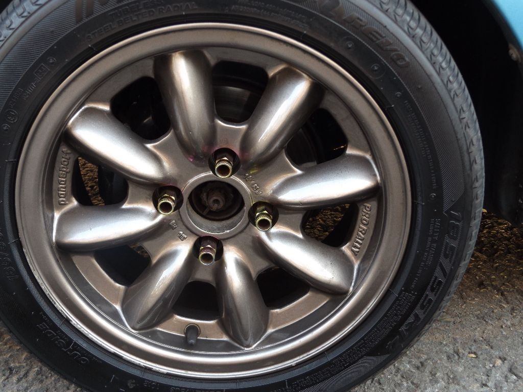 4x100 Panasport Pro Rally Wheels Retro And Rare In