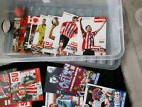Football programme collection