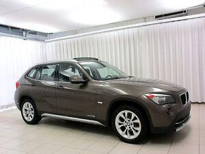 2012 BMW X1 28i x-DRIVE AWD w/ PANORAMIC ROOF, HEATED SEATS &