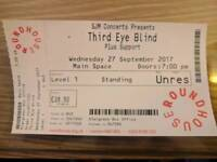 Third Eye Blind Standing Ticket London Roundhouse 27 September