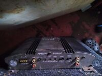 PPI 2240 500W AMP and Speakers