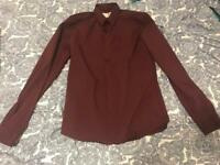 Father Sons Stretch Slim Fit Shirt Size - M