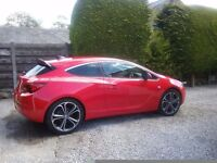 VAUXHALL ASTRA GTC LIMITED EDITION ONLY 1750 MILES
