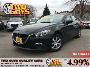 2014 Mazda MAZDA3 GX-SKY JET BLACK ENGINE IMMOBLIZER THEFT DET