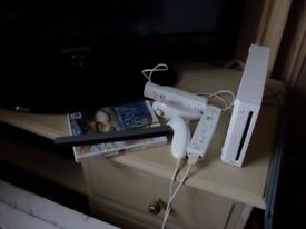 Nintendo wii games console and 6 games