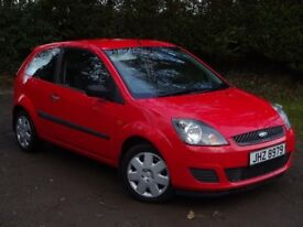 Sept 2007 Ford Fiesta 1.25 Style 3 door**Low miles**Full Years MOT**Full service History** Warranty*