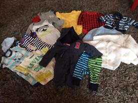 Bundle of baby clothes 0-3m. Excellent condition