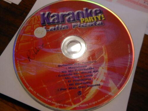 Karaoke Party   Karaoke CD+G   Latin Fiesta