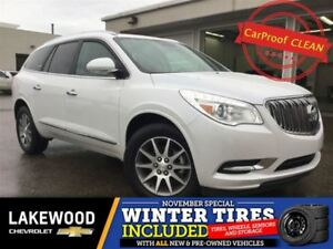 2017 Buick Enclave Leather AWD (Heated Seats, Colored Touch, Rem
