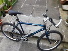 Mountain Bike in excellent condition. Good tyres and brakes .
