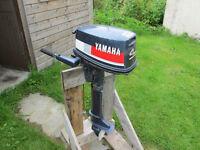 Yamaha 4hp 2-sroke outboard