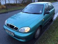 Daewoo lanos 1.6 petrol mot till September 2017 low mileage
