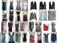 MAKE OFFER - JOBLOT Bundle of NEW and PRE-LOVED clothes - dresses, top, jackets, coats 30 items