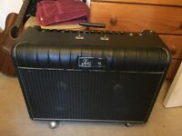 Kustom '72 Coupe Combo Guitar Amplifier with Foot Switch. Great Condition.