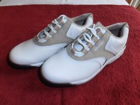 """Ladies NEW """" FOOTJOY """" leather Golf Shoes,"""